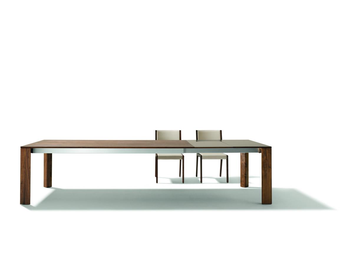 Eviva Tisch Ausgezogen Frontal Mit Aufsicht 2 Stuehle